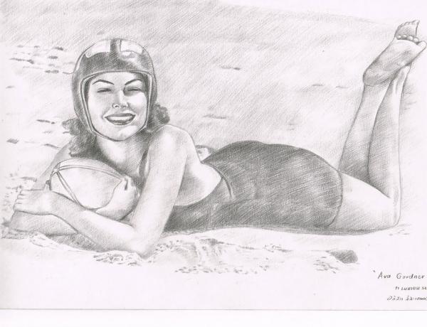 Ava Gardner by 154247907